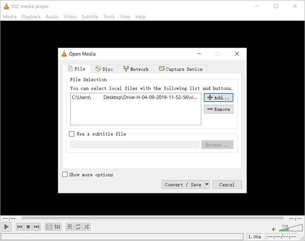repair video on mac by converting it