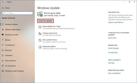 windows 10 drivers update