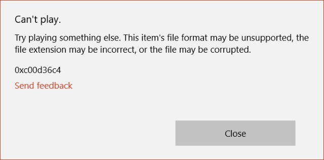 malicious url is blocked