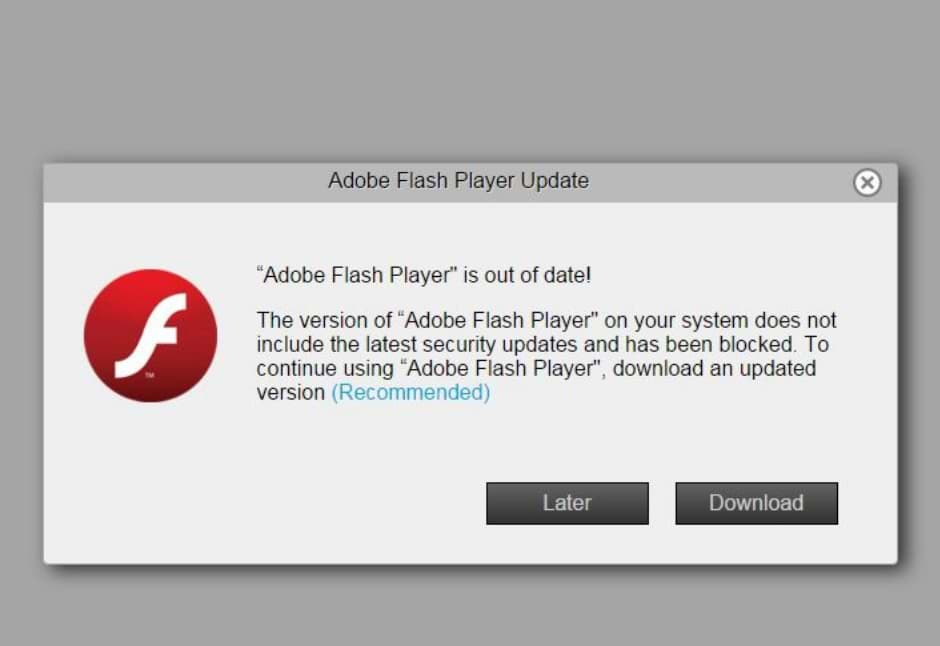 cannot play videos due to flash player problems
