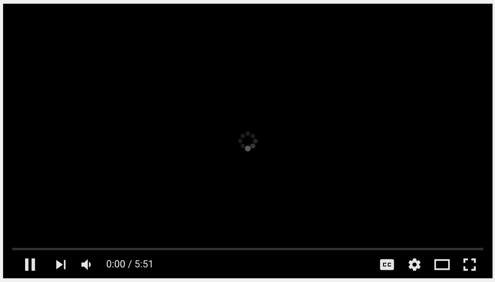 youtube video not playing