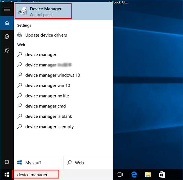 update display driver