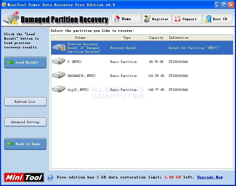 data recovery software minitool power data recovery