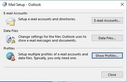 fix outlook 18