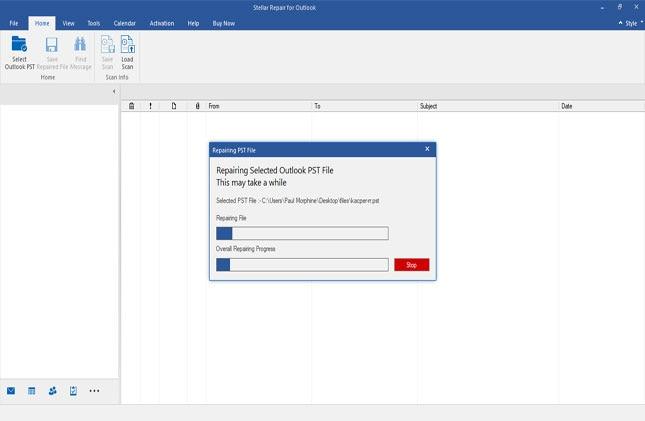 software repairing the file