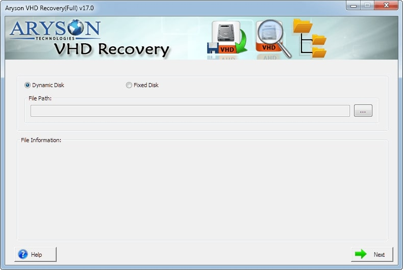 Aryson VHD Recovery