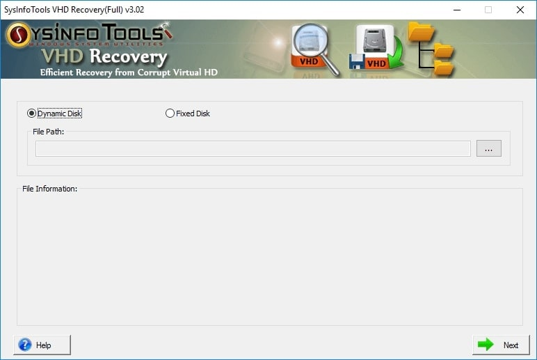 Sysinfo VHD Recovery
