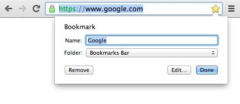 add bookmarks chrome
