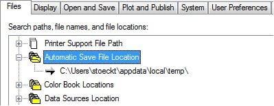automatic save method dwg autocad