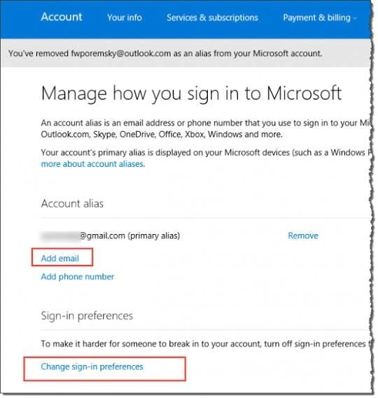 how to find old deleted emails on hotmail