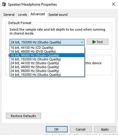 Dell Audio funktioniert nicht 4