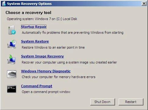 Windows 7 auf die Werkseinstellungen zurücksetzen Systemwiederherstellung