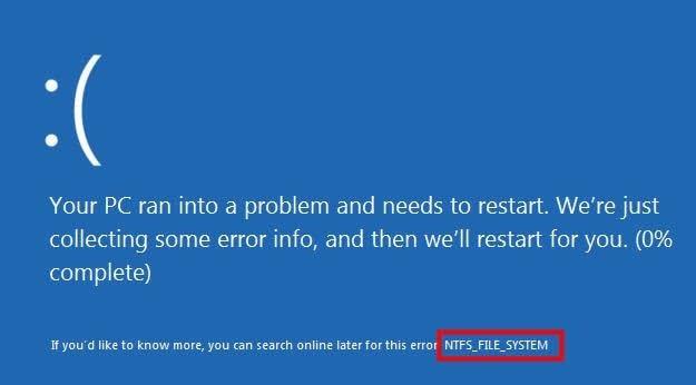 error del sistema 1