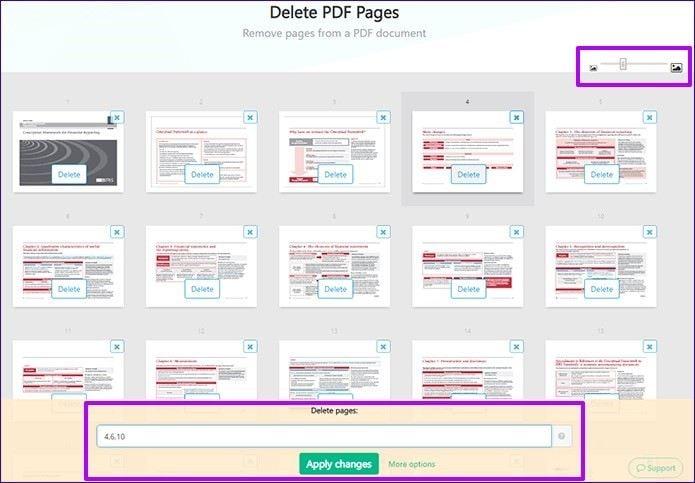 remove pdf with sejda 3