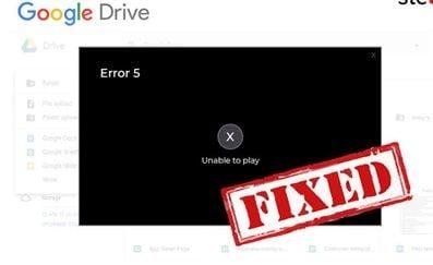 Não consegue reproduzir o vídeo de erro foto 1