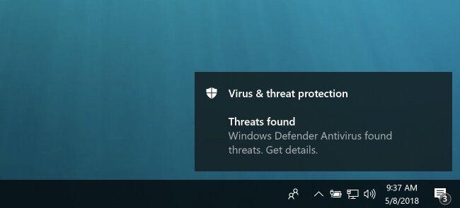 virus found 1