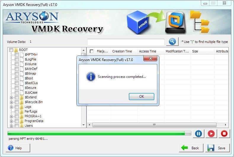 ferramenta de recuperação vmdk 5