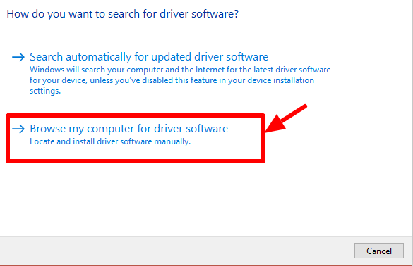browse driver