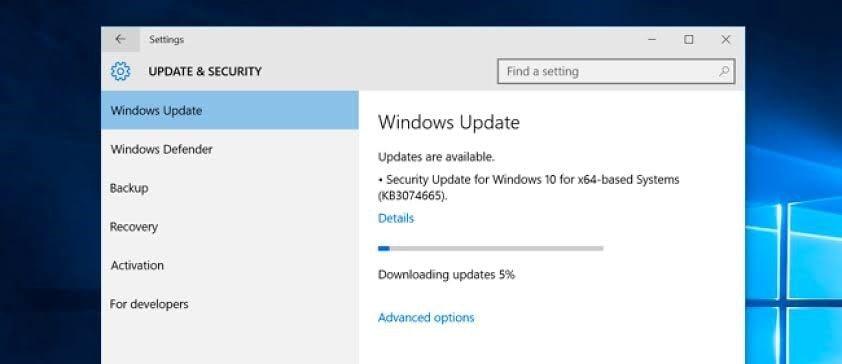 install windows update 2