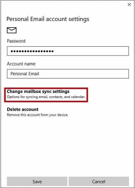 reconfigure smtp settings 3