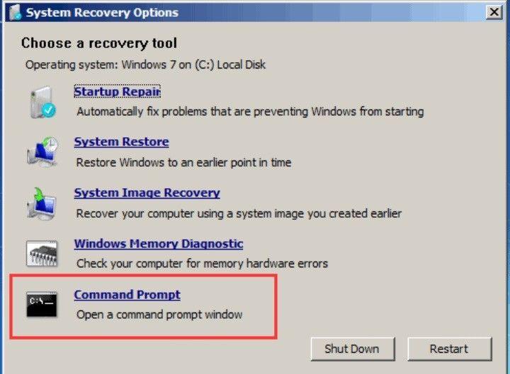 restore mbr windows 7 4