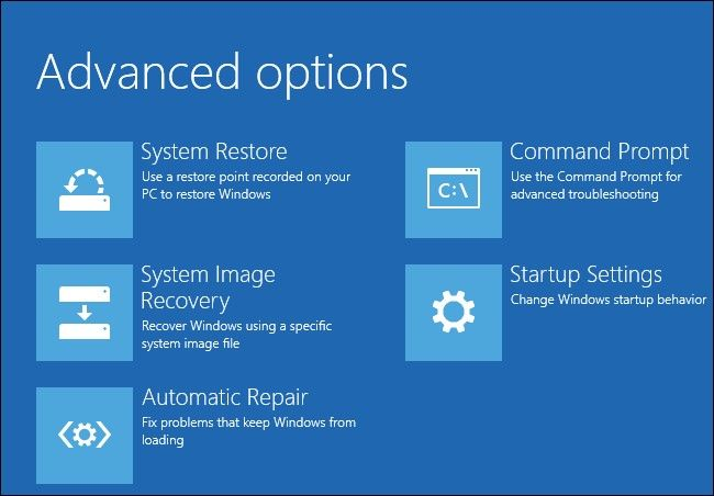 run automatic startup repair 4
