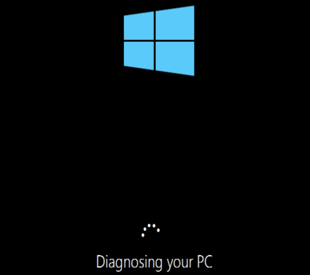 bootmgr diagnosing your pc