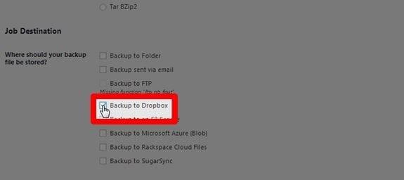 select-dropbox-as-preferred-storage