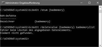 limpar armazenamento de bcd de memória ruim3