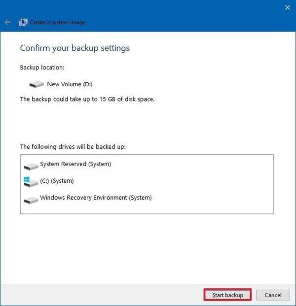 click-start-backup