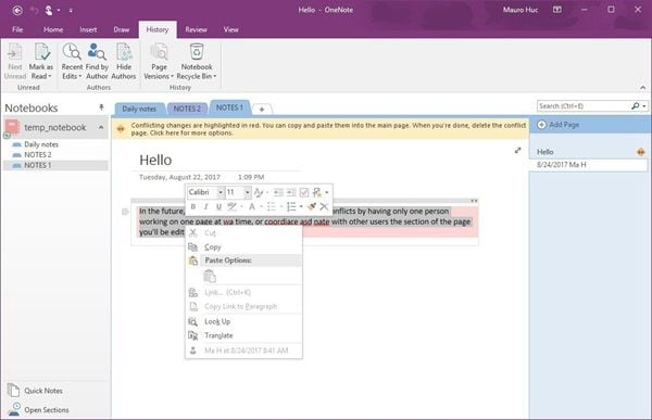 content-sync-conflict-on-onenote-1