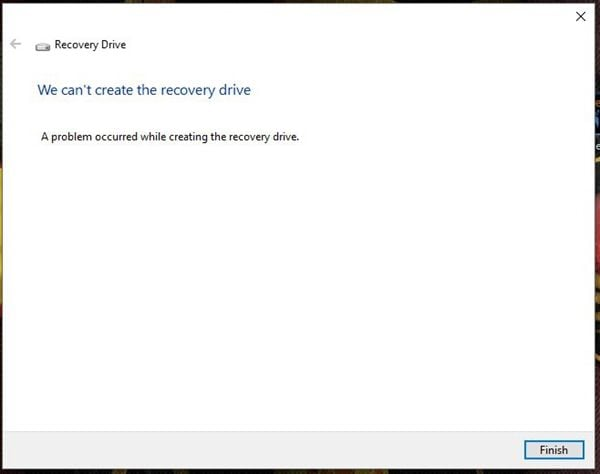 failed-to-create-recovery-drive