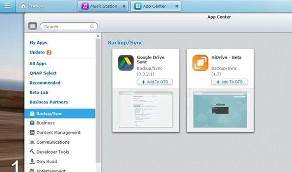 install-google-drive-sync-qpkg-1