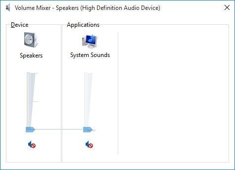 adjust windows volume