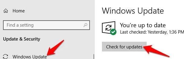 update windows firmware