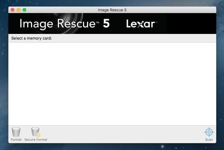 Lexar Image Rescue