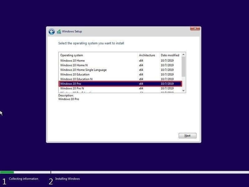 perform clean windows install 4