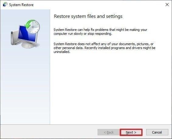 restore computer 3