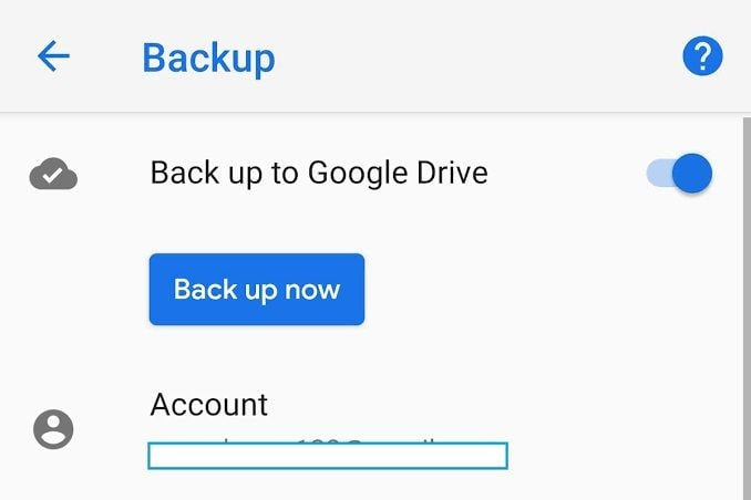 google back up now