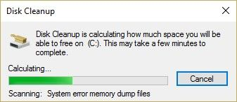 run disk cleanup 3