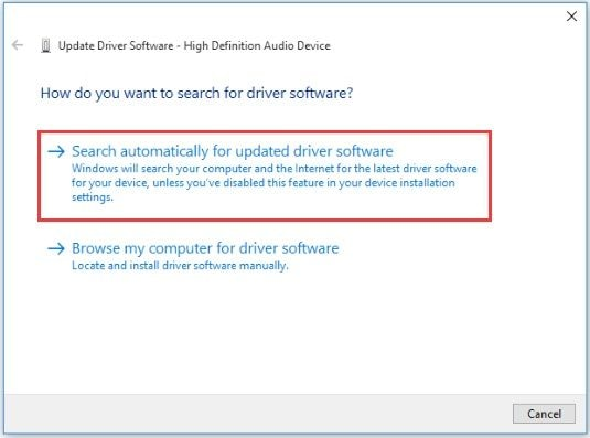 Search Audio Drivers