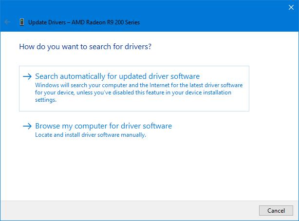 atualizar drivers automaticamente