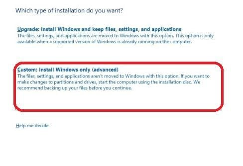 windows 10 clean install 4