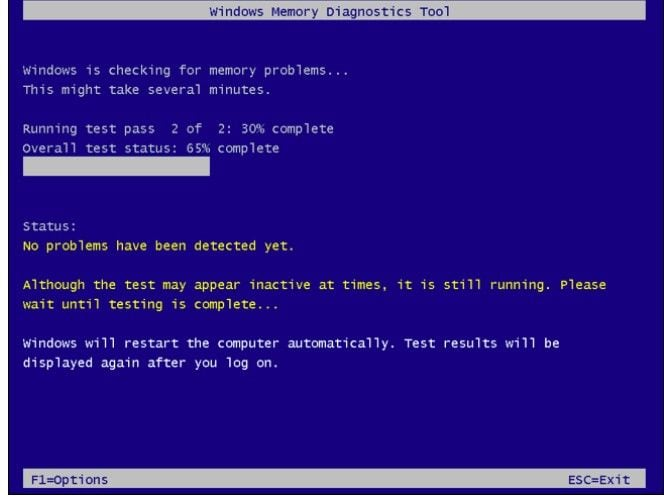 windows memory diagnostic tool 4