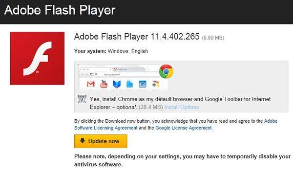Update Flash Player