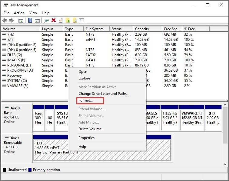 Datenträgerverwaltung 2 2