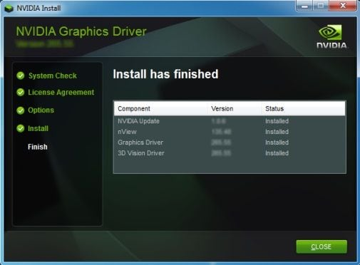 Graphics Driver Installation