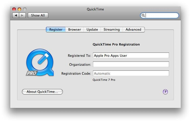 install latest quicktime version