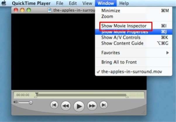 select show movie inspector