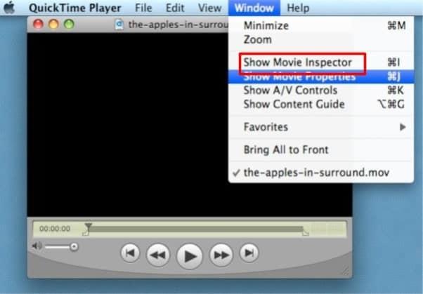 selecione o inspetor de filmes